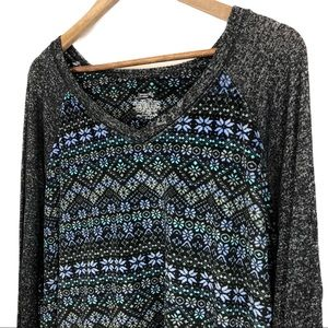 Climate Right by Cuddl Duds Super Soft Sweater 3XL